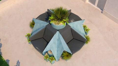 Folded Seating - Origami
