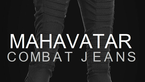 Mahavatar. Combat Jeans. Clo/MD project + obj