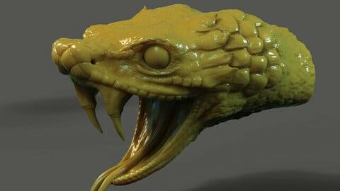 Snake Head STL