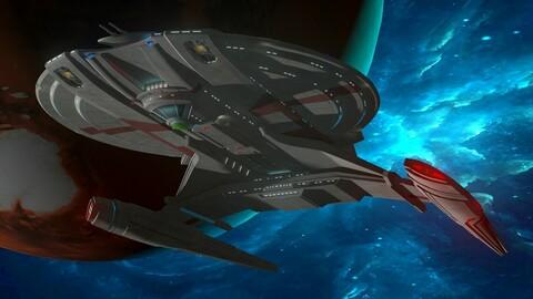 USS SHENZHOU NCC-1227 (Captain Philippa Georgiou)