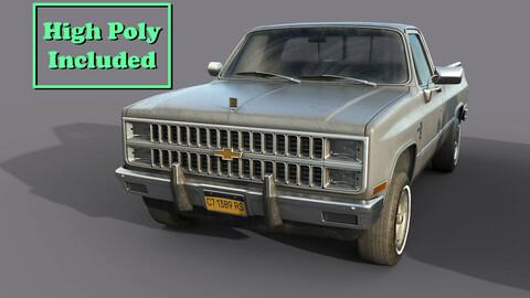Chevrolet C10 1982 Grey