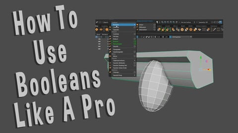 HOW TO USE BOOLEANS LIKE A PRO IN MAYA 2020