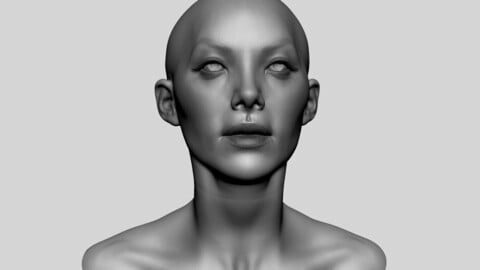 Female Head 10