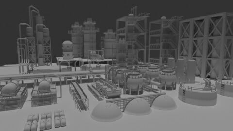 Free Industrial Asset  Pack 1