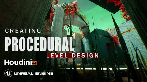 Houdini Tutorial Procedural Level Design in Unreal Engine 4