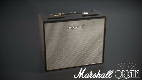 Guitar Amplifier - Marshall Origin - GameReady
