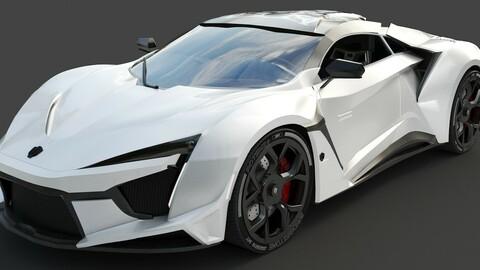 Fenyr Supersport Wmotors White