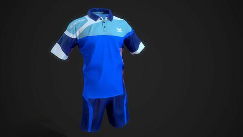 3d model sports uniform