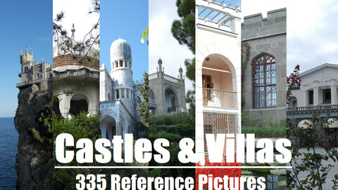 Сastles & Villas, ancient Muslim arch 335 Photo Reference Pictures