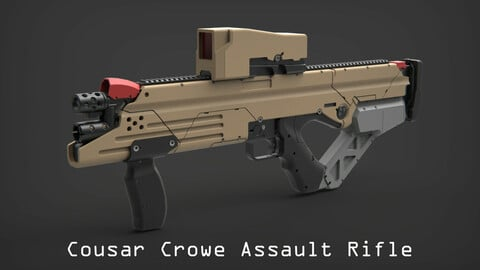 Cousar Crowe Assault Rifle