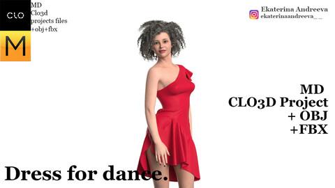 Dress for dance.