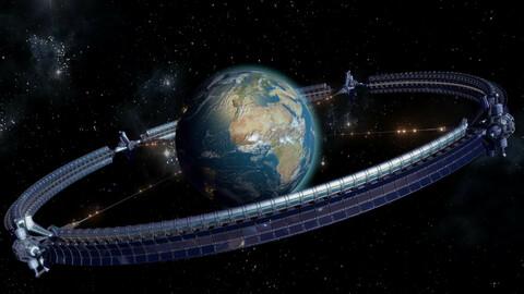 Earth Space Wheel (HD)