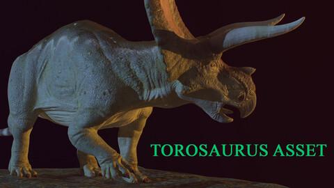Torosaurus Game Ready Asset