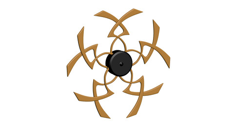 Circular Wall Decor Product model