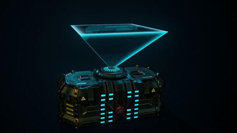 Sci fi box [FREE FOR NON-COMMERCIAL]