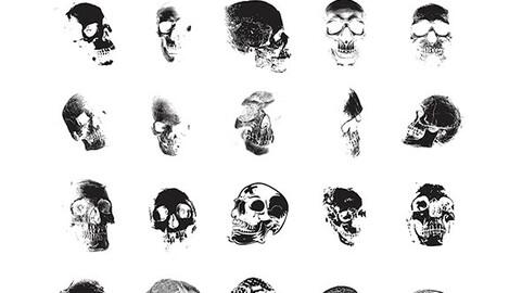 Skulls Vector Package VOL 2