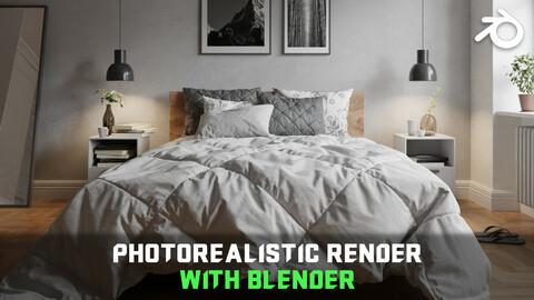Interior Rendering - Photorealism with Blender