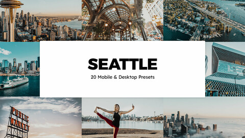 20 Seattle LUTs and Lightroom Presets
