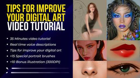 Improve Your Digital Art - Video Tutorial