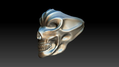 RING SCULPTING SKULL