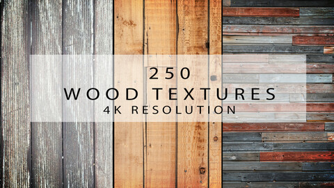 250 Wood Textures - High Quality