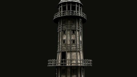 ENTERABLE AAA NEXT GEN MEDIEVAL LIGHTHOUSE LANTERN TOWER