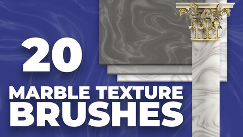 Marble Texture Brushes for Photoshop