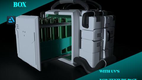 SCI-FI METAL BOX