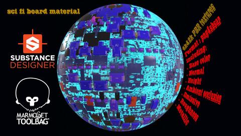 Sci-Fi Board material 082
