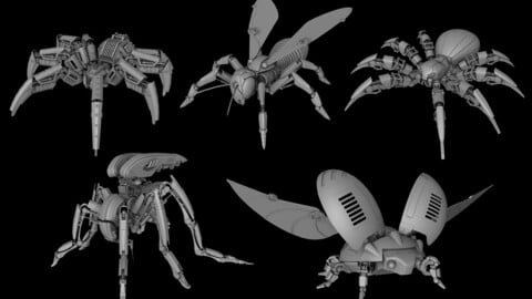 Robot insects pack