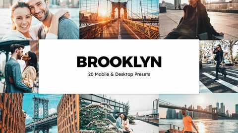 20 Brooklyn LUTs and Lightroom Presets