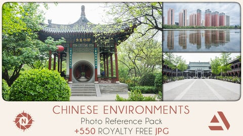Photo Reference Pack: Chinese Environments