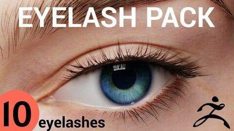 Eyelash Pack (ZBrush)