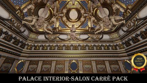 Palace Interior-Salon Carré (Unity 3D Game asset Pack)