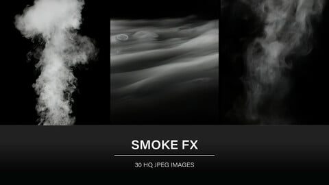 Smoke FX (30 HQ JPEG) - for Photobashing, Textures and Brushes