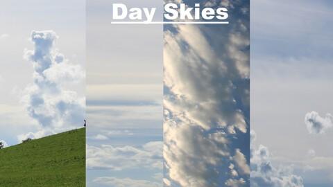 Sky Replacement Day Skies (128 Skies!!!)