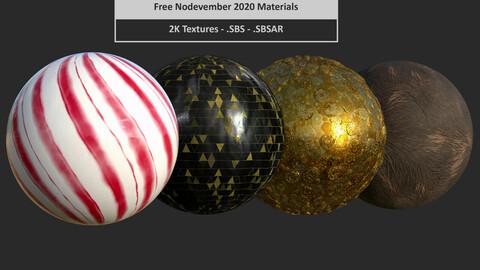 Nodevember 2020 - Free material pack