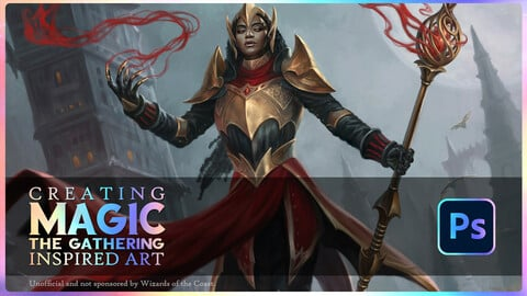 Creating Magic the Gathering Inspired Artwork