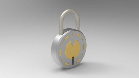 Lock Mockup Model