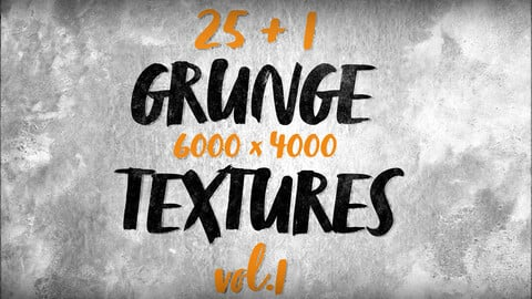 25 HD Grunge textures and backgrounds vol.1