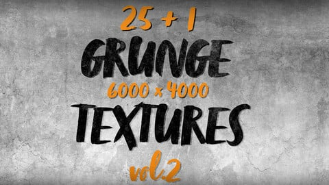 25 HD Grunge textures and backgrounds vol.2