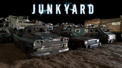 Junkyard - RAW (LowPoly)