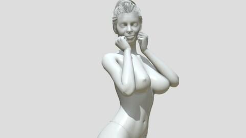 Nude woman printable