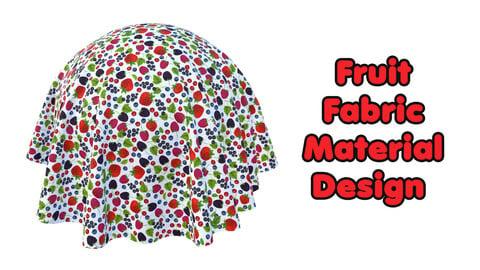 Fruit Fabric Material Design / Sbsar / Substance Painter