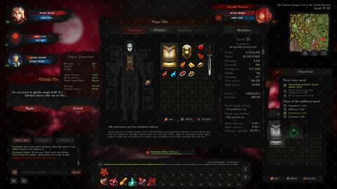 UI MMORPG Dark Templar