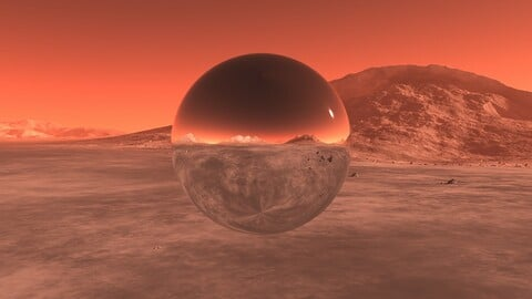 Mars  01. 16K HDRI