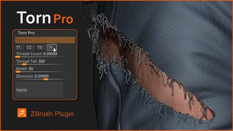 Torn Pro -  ZBrush Plugin