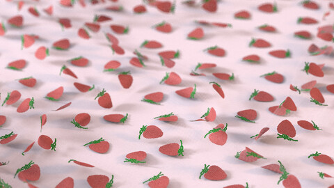 Strawberry patern