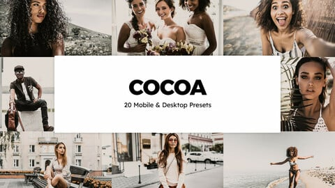 20 Cocoa LUTs and Lightroom Presets