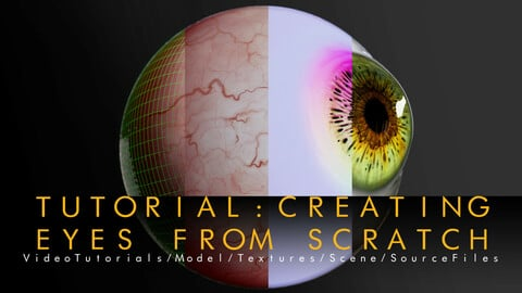 Tutorial: Creating Eyes From Scratch -(Realtime)